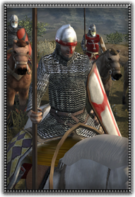 Mercenary Latin Knights