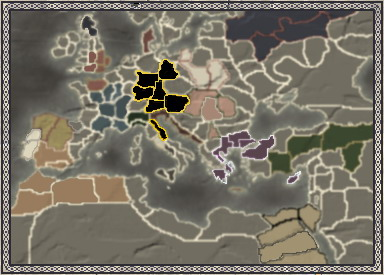 The Holy Roman Empire 神聖羅馬帝國