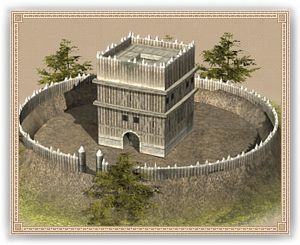 Motte and Bailey (Upgrade) 城寨(可升級)