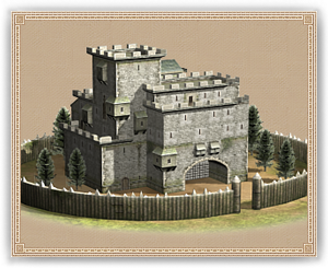 Wooden Castle (Upgrade)
