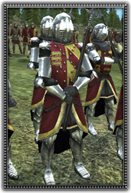 Dismounted English Knights 步行英格蘭騎士