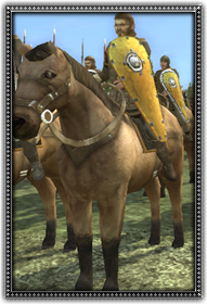 Mounted Sergeants 騎馬軍士
