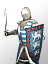 Dismounted French Chivalric Knights 步行法蘭西俠義騎士