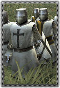 Dismounted Teutonic Knights