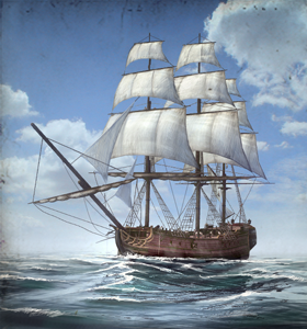 Merchantmen (Trade Ship)