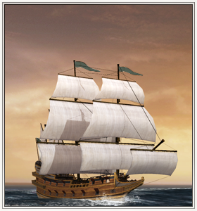 Race-Built Galleon